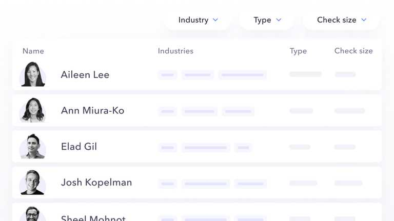 company-news We built an Investor Database